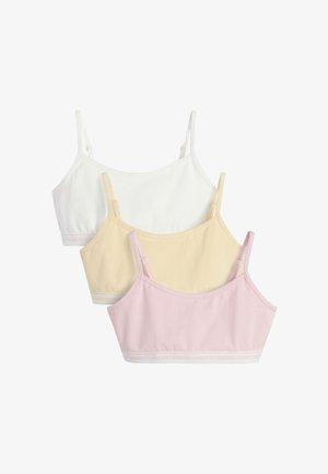 3 PACK CROP TOPS - Top - pink