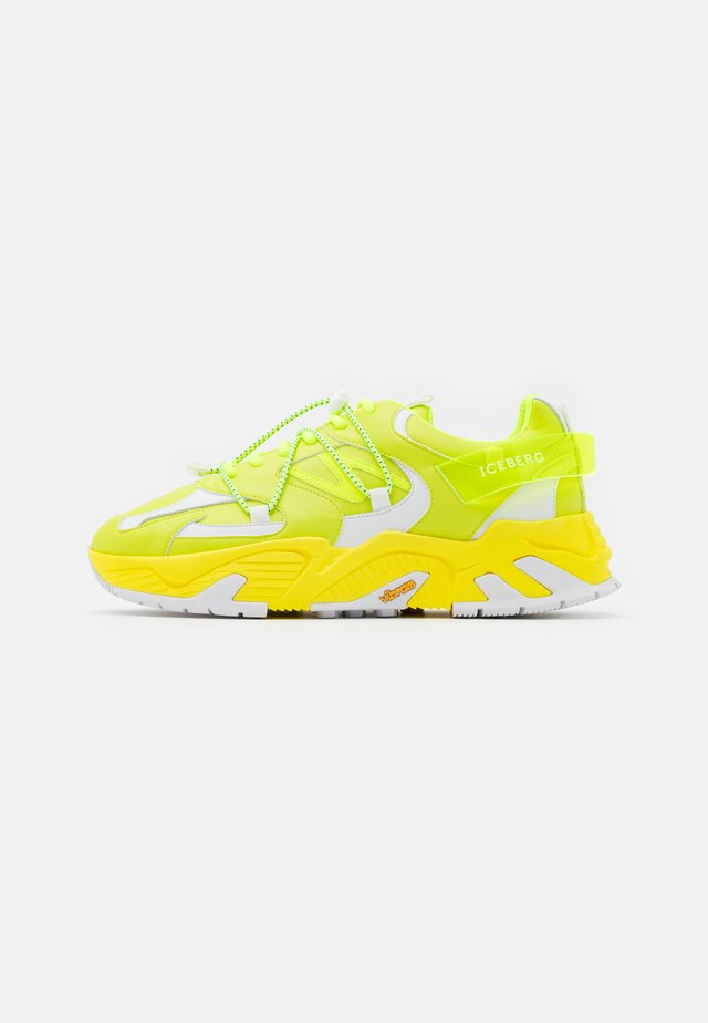 KAKKOI - Trainers - clean yellow