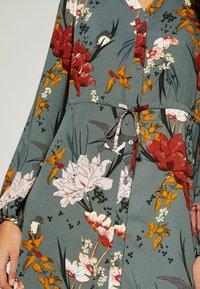 ONLY - ONLELEONORA DRESS - Day dress - balsam green/flower - 5