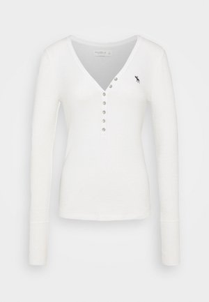 COZY HENLEY - Sweter - white