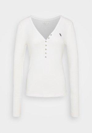 COZY HENLEY - Svetr - white