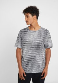 Missoni - SHORT SLEEVE - T-shirt z nadrukiem - black - 0