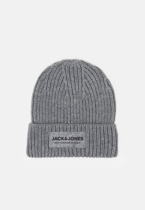 BEANIE - Mössa - light grey melange