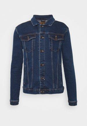 KASH JACKET - Denim jacket - dark blue