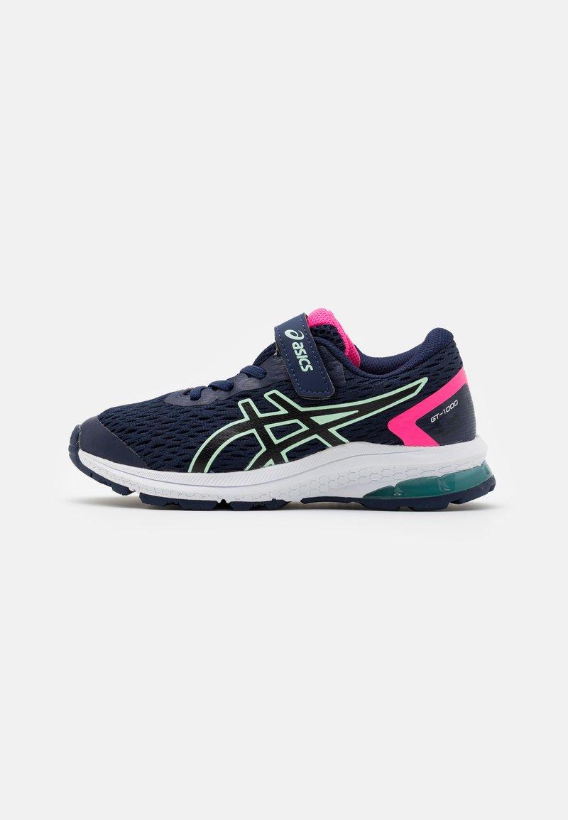 ASICS - GT-1000 9 UNISEX - Stabilní běžecké boty - peacoat/black