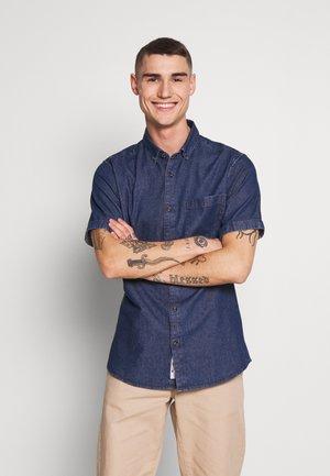 ONSBASIC - Shirt - dark blue denim