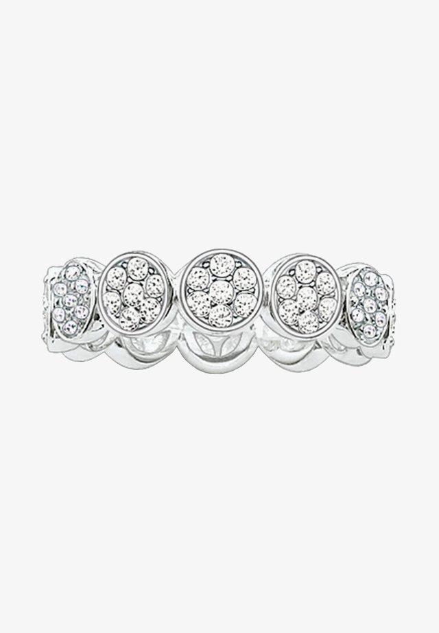 SPARKLING CIRCLES - Ring - silber