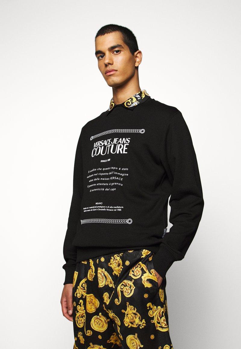 Versace Jeans Couture - Felpa - nero