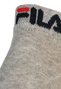 Fila - 6 PACK - Strumpor - grey - 1