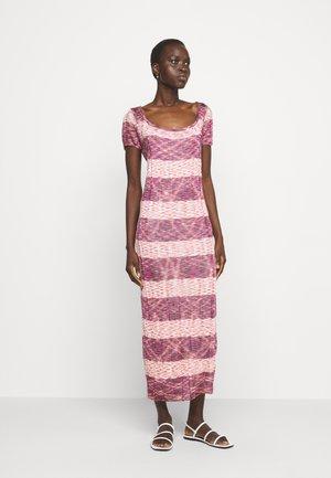 ABITO LUNGO - Gebreide jurk - multi-coloured