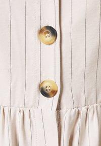 ONLY - ONLCUMA CALLY STRIPE DRESS  - Day dress - mushroom/black - 2