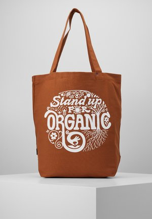 MARKET TOTE - Sports bag - earthworm brown