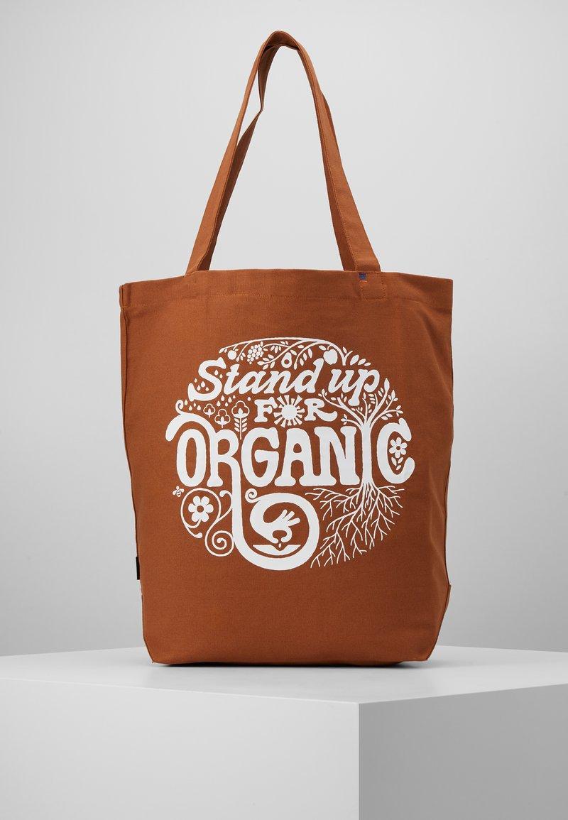 Patagonia - MARKET TOTE - Sports bag - earthworm brown