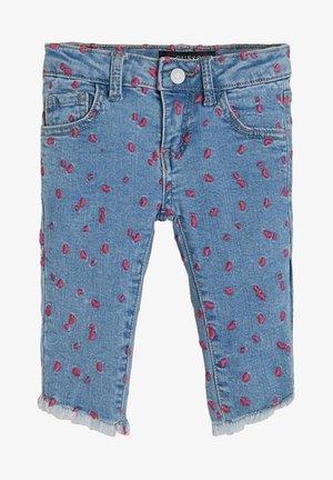 SKINNY - Straight leg jeans - fantaisie multicolore
