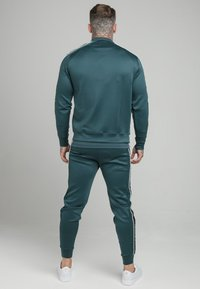 SIKSILK - CRUSHED  JACKET - Giubbotto Bomber - ocean green - 2