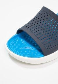 Crocs - Pool slides - navy/white - 5