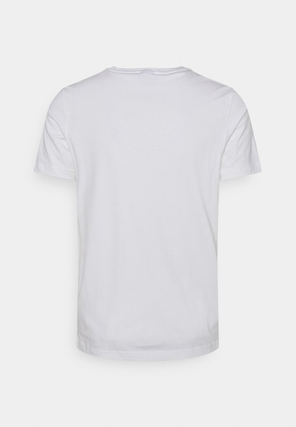Puma LOGO TEE - T-shirt z nadrukiem - white/biały Odzież Męska IXOT