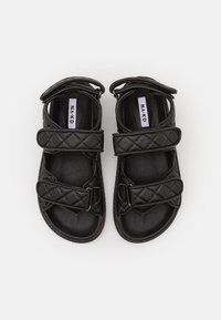 NA-KD - QUILTED  - Sandals - black - 5