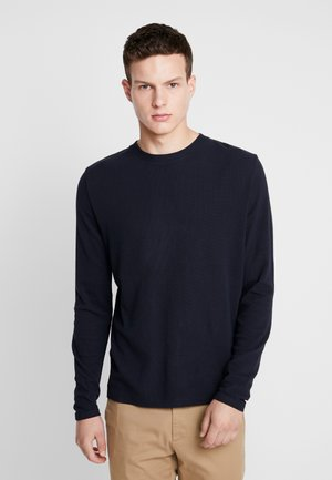 CLIVE - Long sleeved top - navy blue