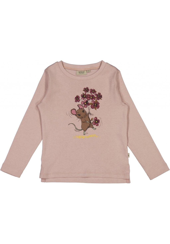 Kinder FLOWER MOUSE - Langarmshirt