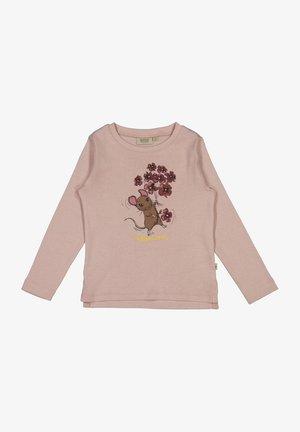 FLOWER MOUSE - Langærmede T-shirts - rose powder