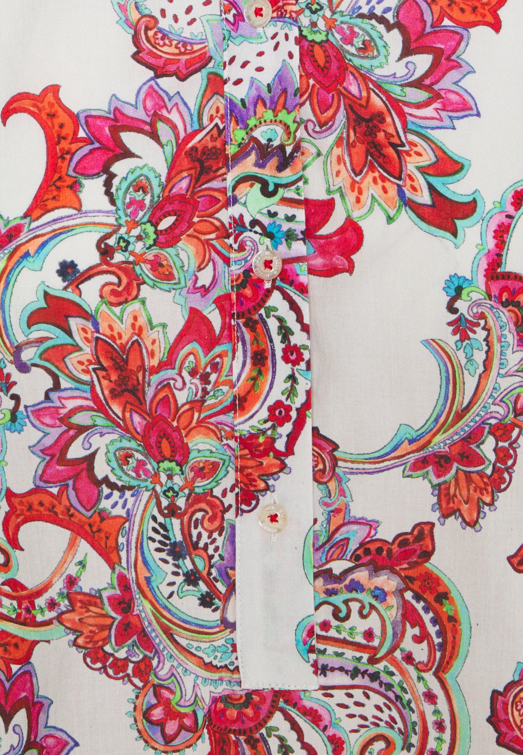 Emily van den Bergh Overhemdblouse - white/multicolor - Dameskleding AAA-kwaliteit