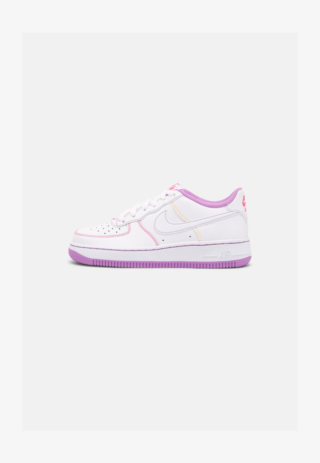 AIR FORCE 1 STITCH BG - Baskets basses - white/fuchsia glow/hyper pink