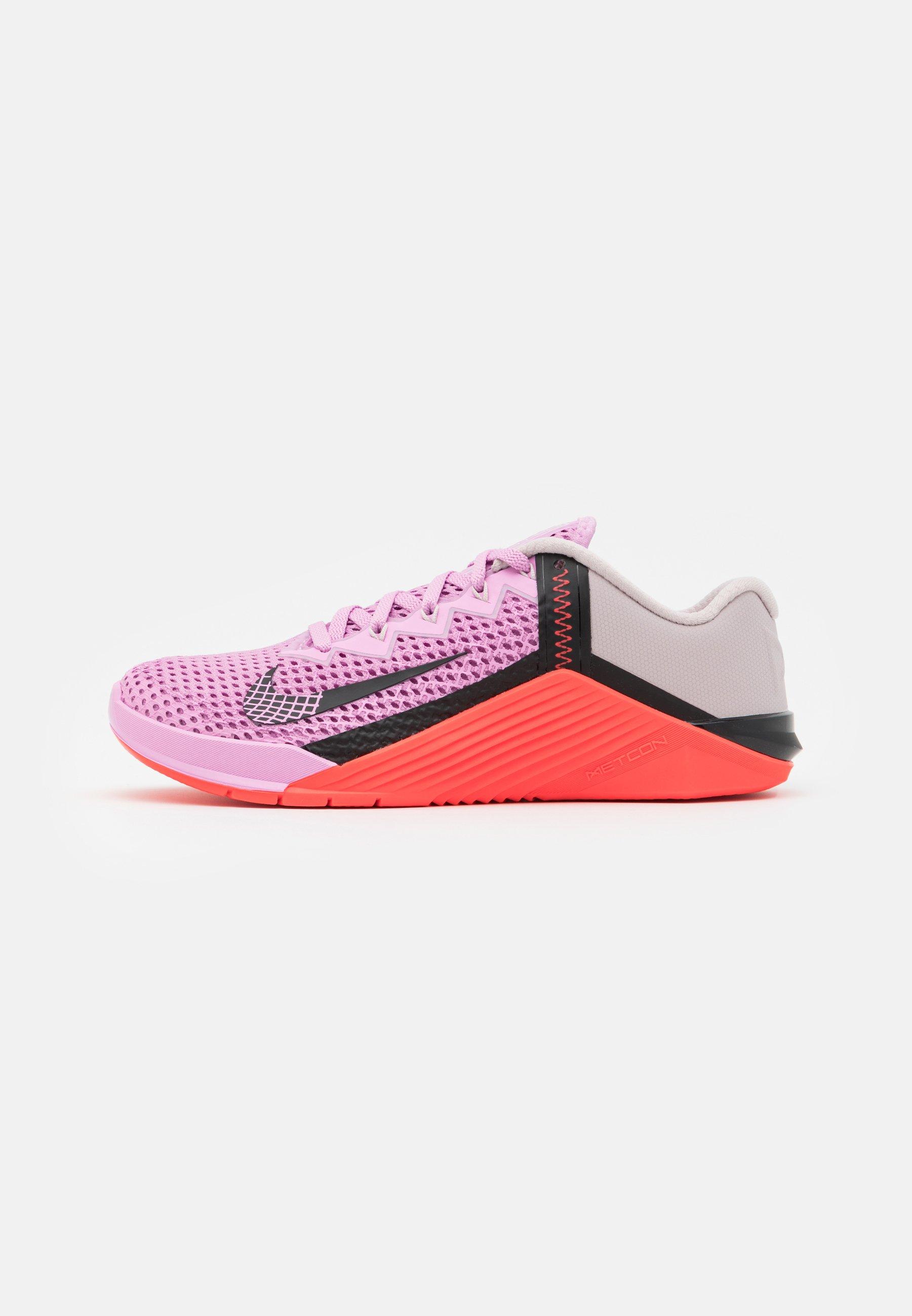 Santo salado muñeca  Nike Performance METCON - Sports shoes - beyond pink/black/flash  crimson/pink - Zalando.ie