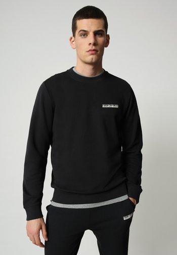B-SURF CREW - Pullover - black