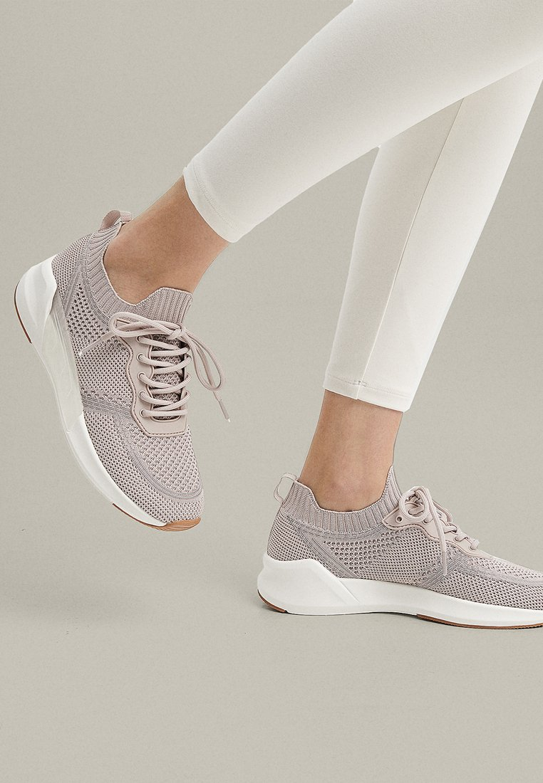 OYSHO - WITH TRANSLUCENT DETAIL - Trainers - rose