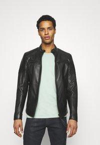 Tigha - TALON - Leather jacket - black - 0