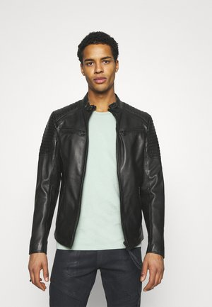 TALON - Leather jacket - black