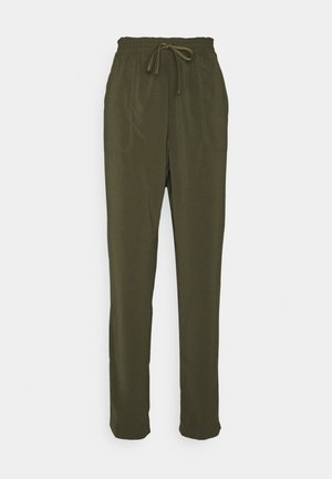 OBJARIA PANT TALL - Trousers - forest night