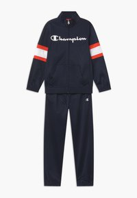 Champion - LEGACY FULL ZIP SUIT SET - Dres - dark blue - 0