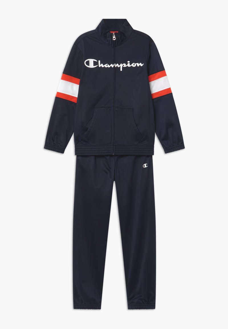 Champion - LEGACY FULL ZIP SUIT SET - Chándal - dark blue