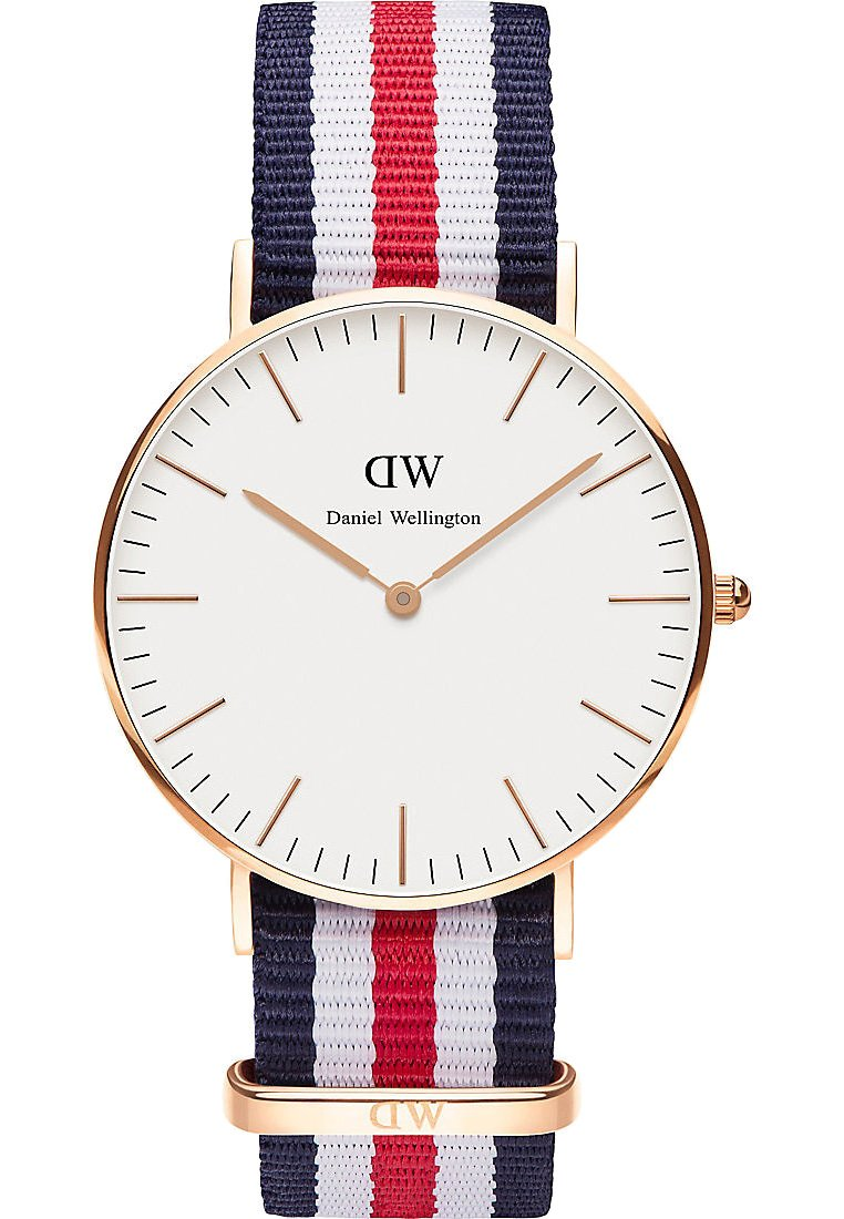 Daniel Wellington - CLASSIC CANTERBURRY 36M - Watch - white