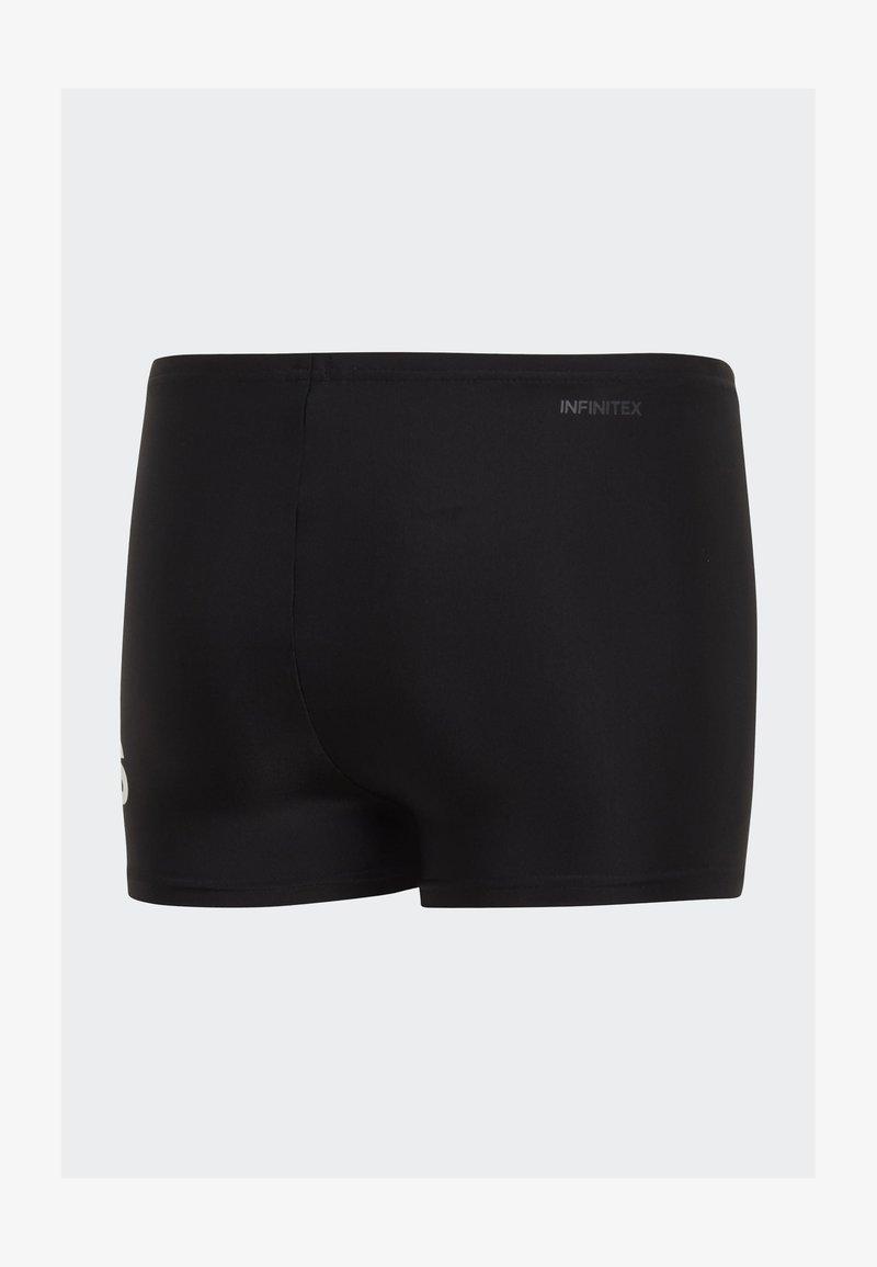 adidas Performance - BADGE OF SPORT SWIM BOXERS - Swimming trunks - black
