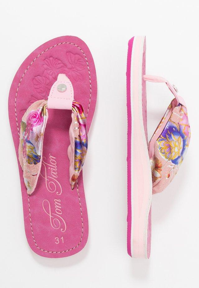 Sandalias de dedo - rose