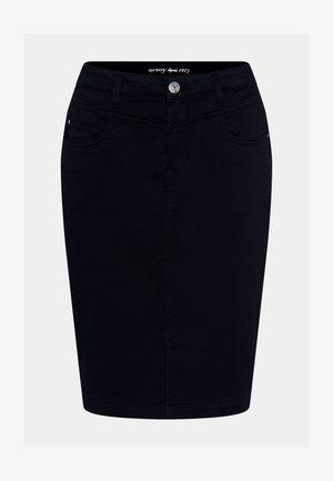 Denim skirt - schwarz