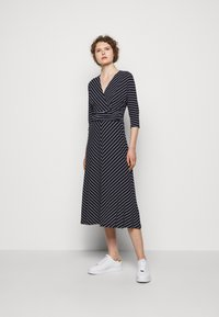 Lauren Ralph Lauren - MATTE DRESS - Jersey dress - navy/colonial - 1