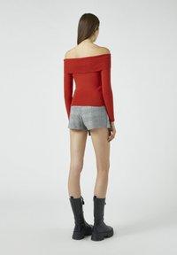 PULL&BEAR - Pullover - red - 2