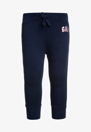 TODDLER GIRL LOGO  - Tracksuit bottoms - elysian blue