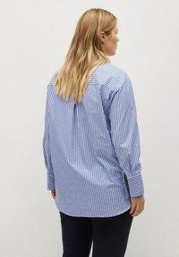 Violeta by Mango - Button-down blouse - dark blue - 1