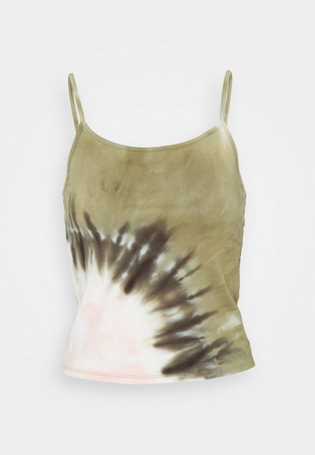BASIC CAMI TIE DYE - Topper - rose