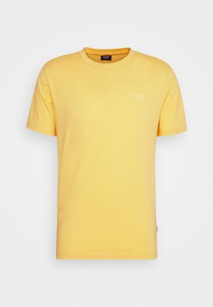 ALPHIS - Basic T-shirt - bright yellow