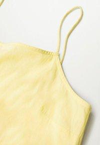 Mango - COTTON - Maxi dress - gul - 6