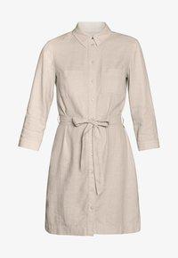 Esprit - Skjortklänning - sand - 4