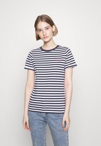 THE SLIM TEE - Print T-shirt - open miscellaneous