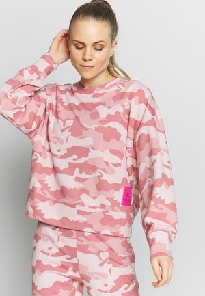 CROPPED PULLOVER - Mikina - pink