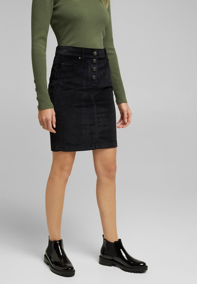 PENCIL SKIRT - Pencil skirt - black